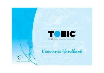 TOEIC Test Handbook