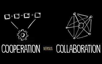 The difference between cooperation and collaboration when to use each approach
